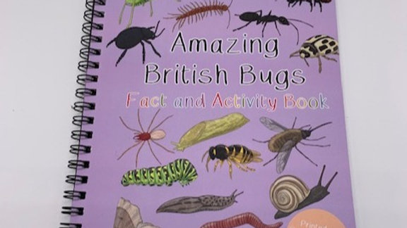 British Bugs Fact and Activity Book