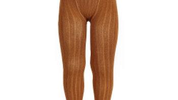 Condor Cinnamon Cotton Rib Tights