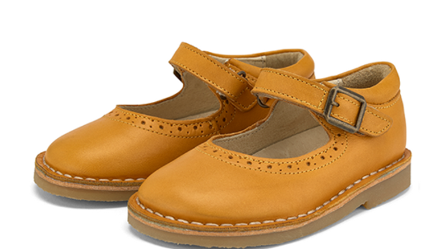 Young Soles Mustard Martha  Mary-Jane  Shoe