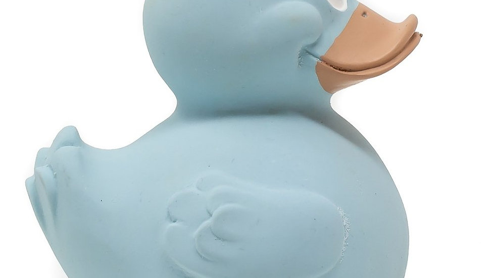 Pastel Blue Rubber Duck