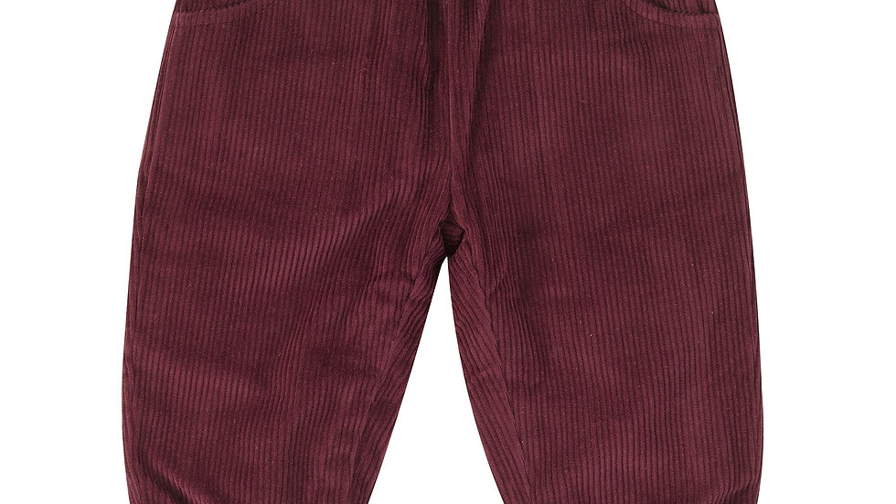 Pigeon Organics Lined Fig Corduroy Trousers