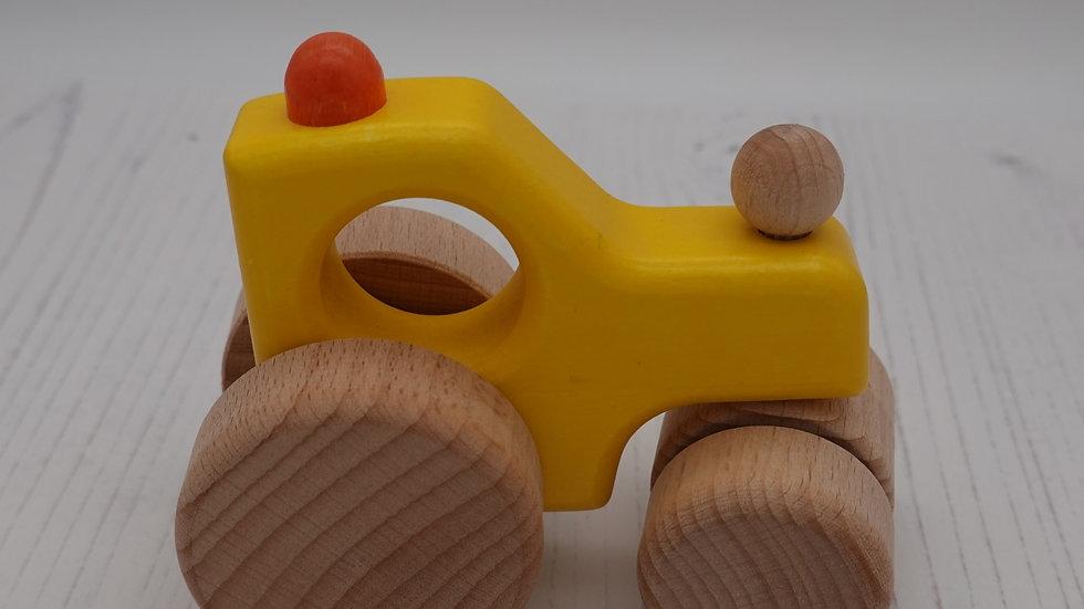 Wooden Steam Roller