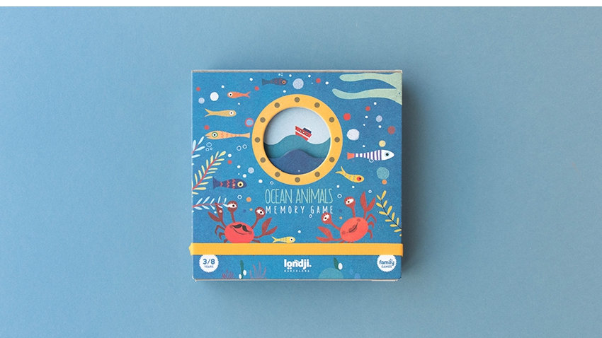 Londji Ocean Animals Memory Game