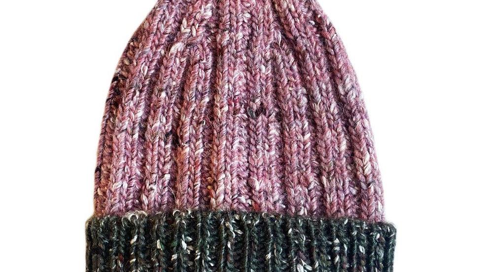 Mabli Knits Ellyllon Iris Beanie Hat
