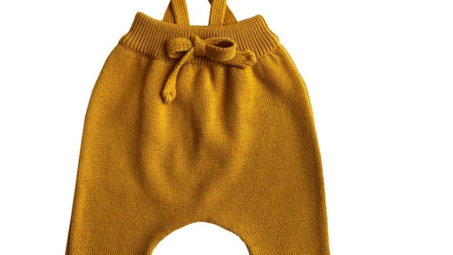 Mabli Iolo Saffron Merino Wool Baby Leggings