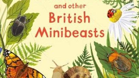 Beetles, Butterflies and British Minibeasts Sticker Book