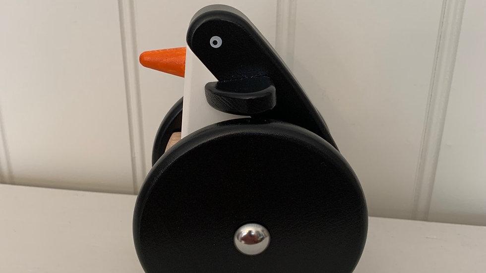 Wooden Wobbly Penguin