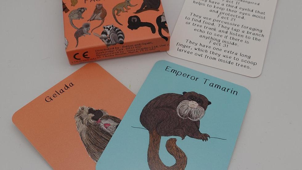 Amazing Primates Cards