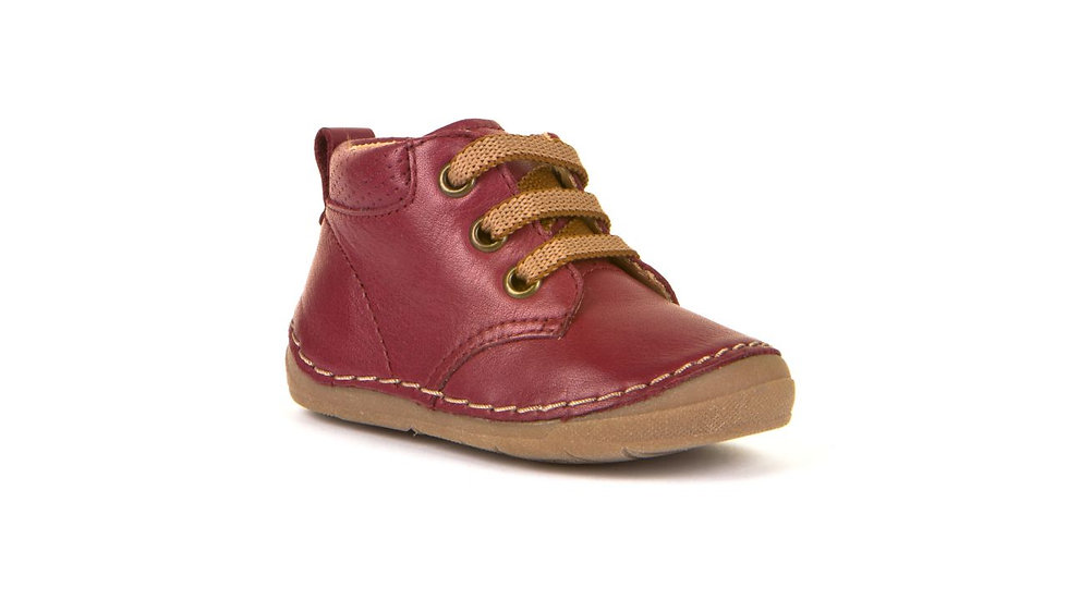 Froddo First Walker Burgundy Lace Up Boot