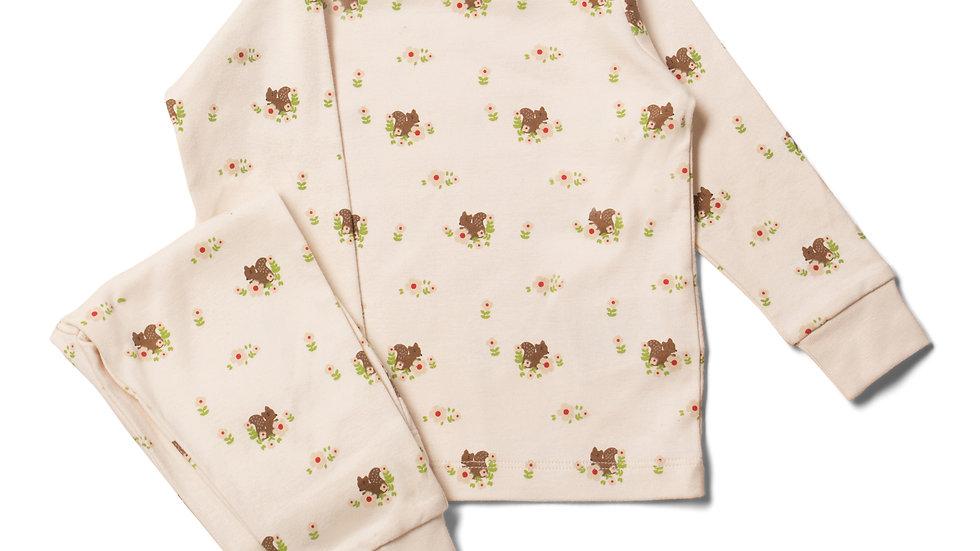 Little Green Radicals Autumn Squirrel Pyjamas