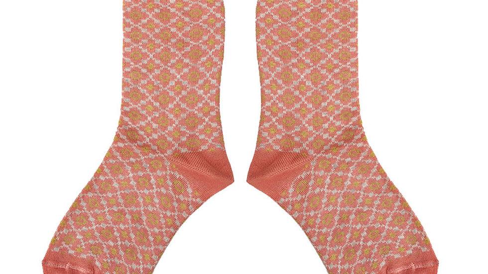 Mabli Pansi Blossom Short Sock