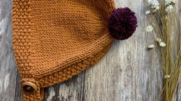 Merino Hand Knitted Bonnets
