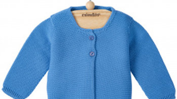 Condor Maya Blue Cotton Cardigan