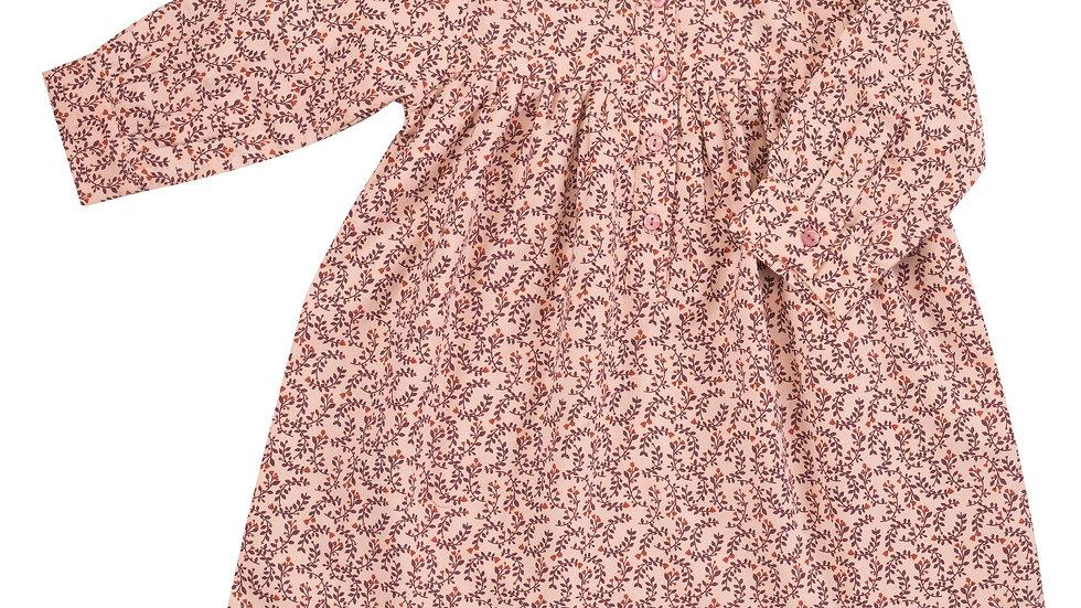 Pigeon Organics Front Button Leaf Print Dress