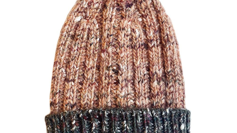 Mabli Knits Ellyllon Opal Beanie Hat