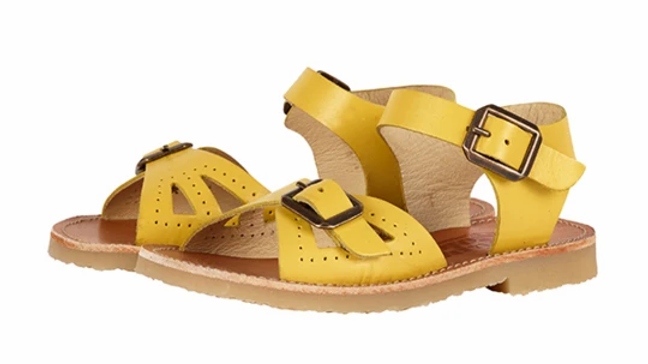 Young Soles of London Yellow Pearl Sandal