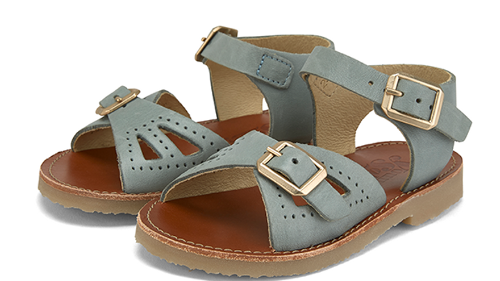 Young Soles of London Smokey Sage Pearl Sandal