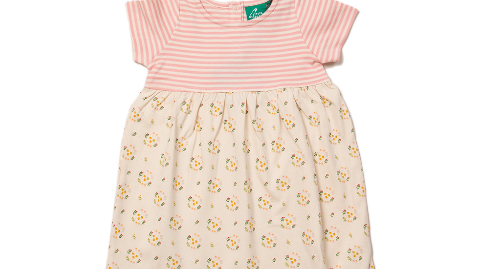 Little Green Radicals Quince Flowers Easy Peasy Dress