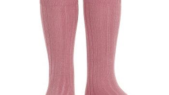 Condor Tamarisk Knee High Cotton Rib Socks