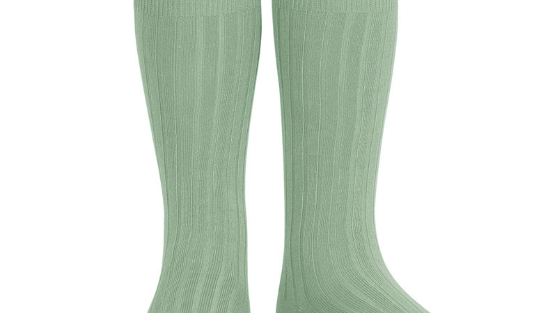 Condor Sage Knee High Cotton Rib Socks