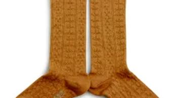 Collegien Juliette Organic Cotton Socks - Moutarde