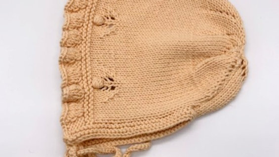 Penoora's Hana Cotton Knitted Bonnet