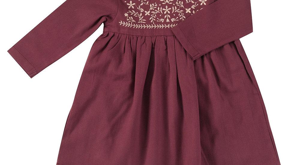Pigeon Organics Fig Embroidered Dress