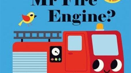 Where Is Mr Fire Engine Felt Flap Book