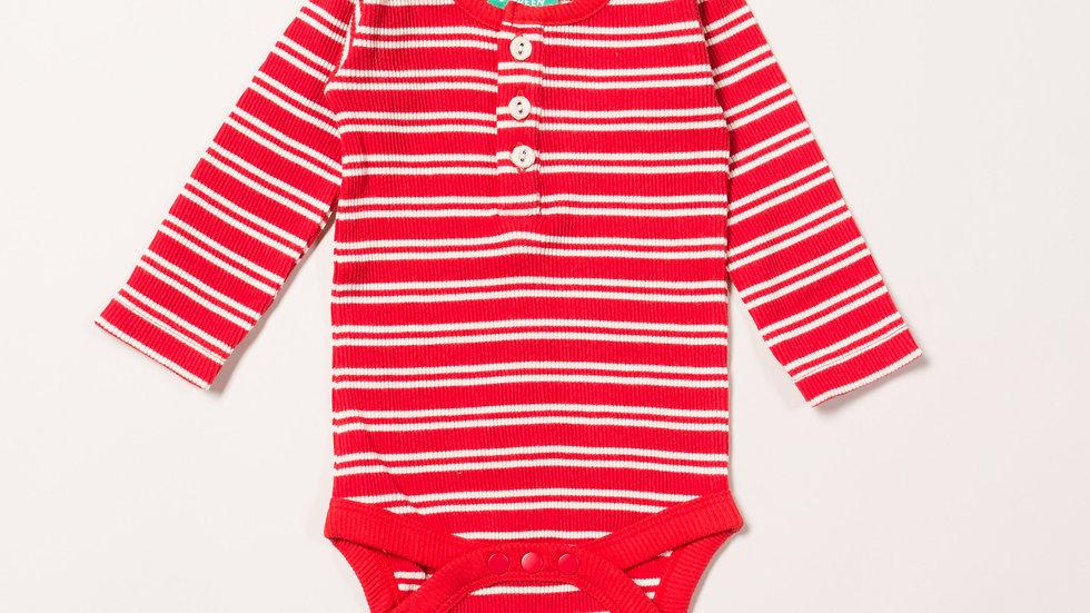 Little Green Radicals Long Sleeve  Red Stripe Body