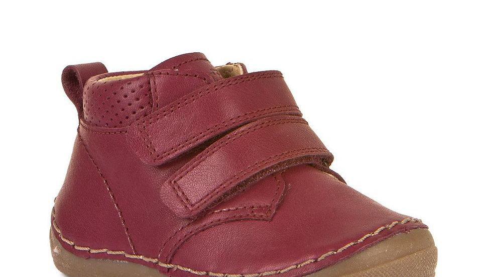 Froddo First Walker Burgundy Velcro Boot