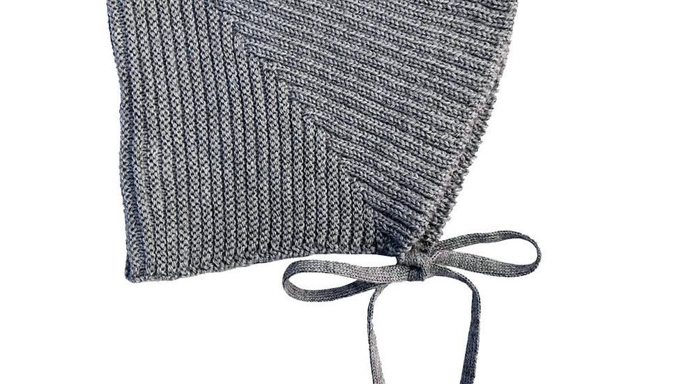 Mabli Sylfaen Grey Marl Pixie Bonnet