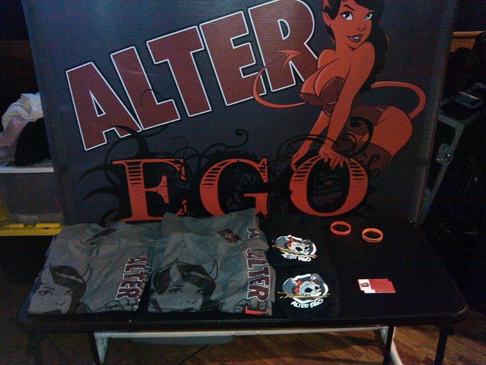 Alter Ego Merch Table