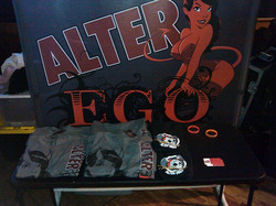 Alter Ego Merch Table