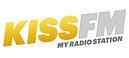 Logo Kiss FM jaune petit.png
