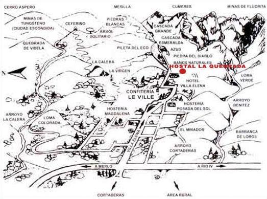 croquis Villa Elena - aledaños