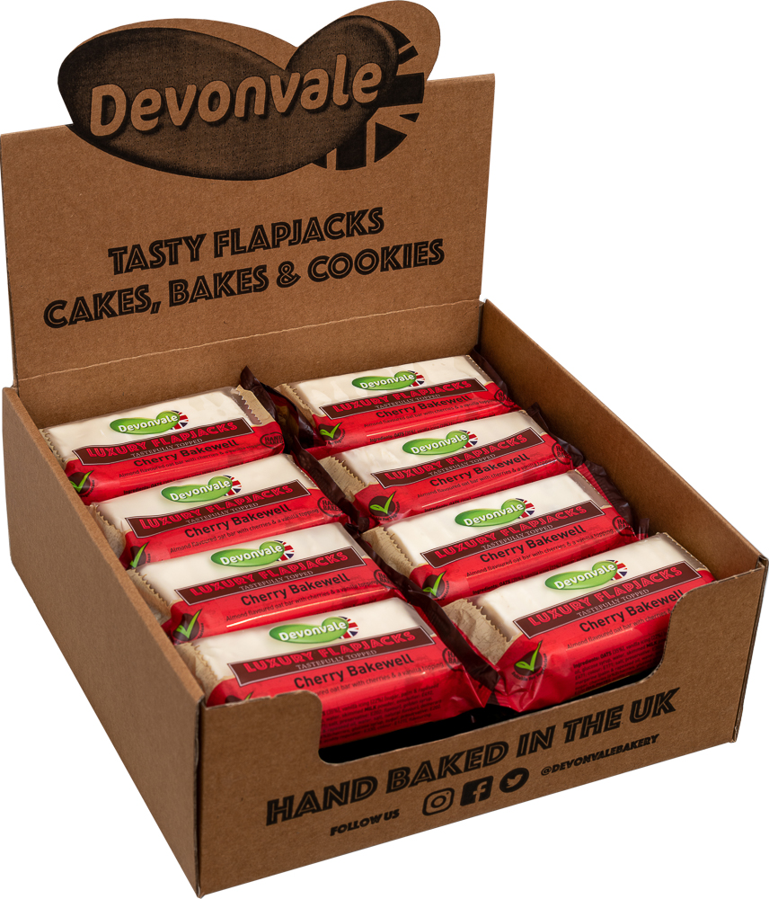 Luxury Flapjack - Cherry Bakewell