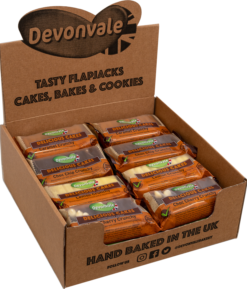 Delicious Cakes - Mixed Crunchy Cake Case