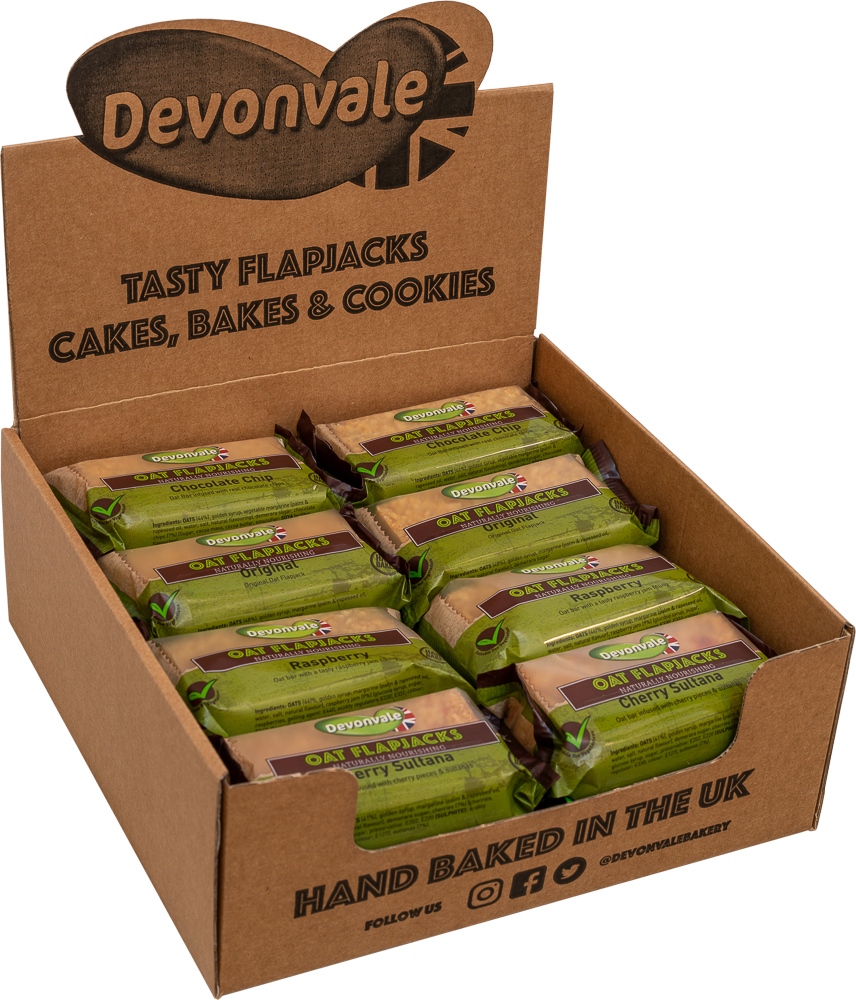 Oat Flapjacks Mixed Case