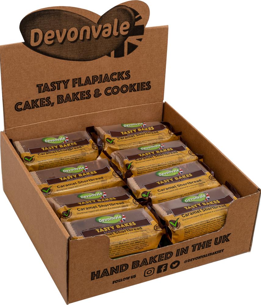 Tasty Bakes - Caramel Shortbread