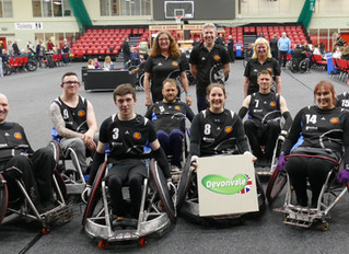 Sponsorship of the Westcountry Hawks Wheelchair Rugby Team