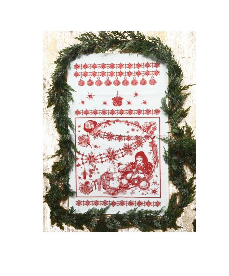 Festive Tea Towel