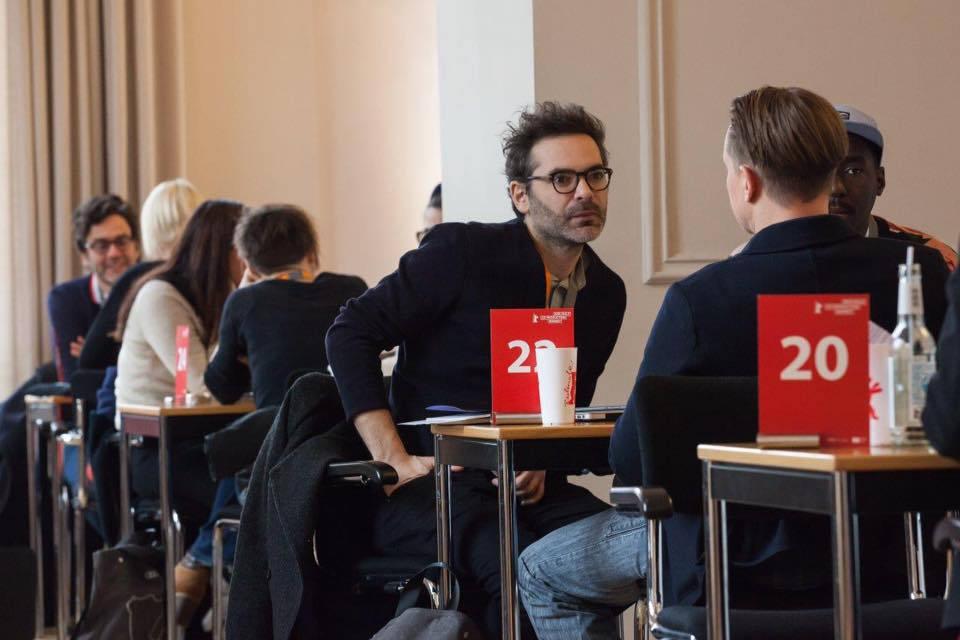 Producer Fares Ladjimi & Sibs at Berlin