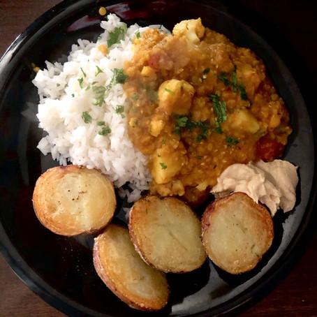 Red Lentil Curry Recipe