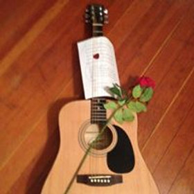 A Rose and a Song singing telegram!