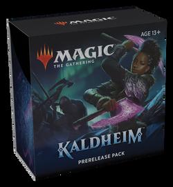 MTG Kaldheim Prerelease Box