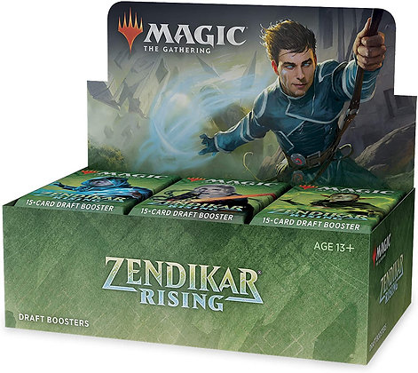 MTG Zendikar Rising 2021 Draft Booster Box