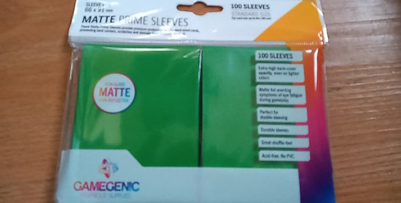GameGenic 100 Card Sleeves
