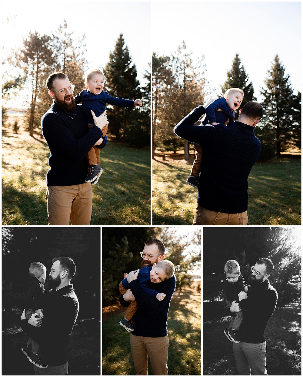 family pictures, photography, wisconsin photography, family portraits, dad and son