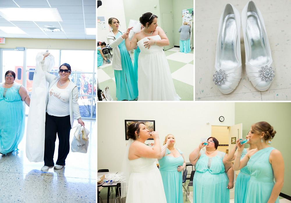 wedding day, bride, wedding shoes, wedding dress, bridesmaids, wedding photography, wisconsin wedding