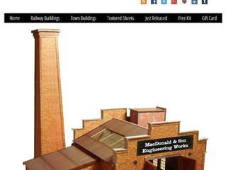New Release OO Gauge Brick Foundry